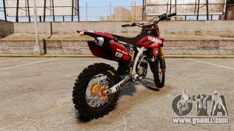 Yamaha YZF-450 v1.11 for GTA 4