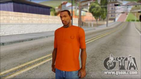 Fred Perry T-Shirt Orange for GTA San Andreas