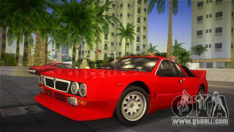 Lancia Rally 037 1982 for GTA Vice City