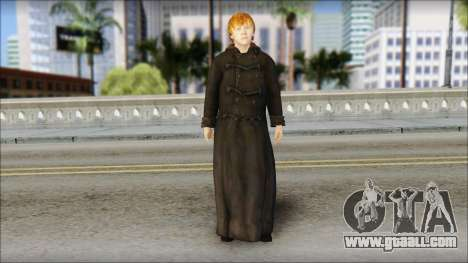 Ron Weasley for GTA San Andreas