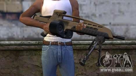 XM8 LMG Dust for GTA San Andreas third screenshot