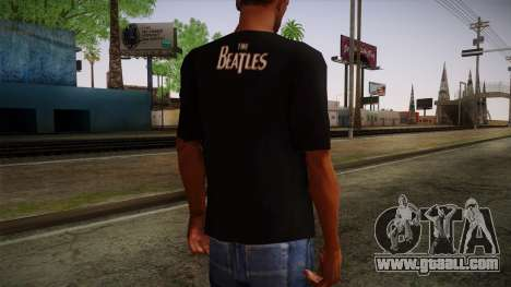 The Beatles Let It Be T-Shirt for GTA San Andreas second screenshot