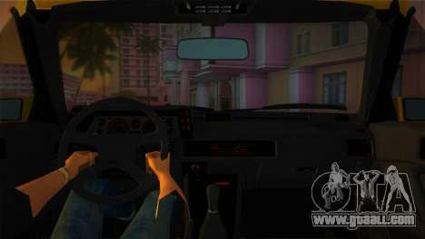 Mitsubishi Starion ESI-R 1986 for GTA Vice City back view