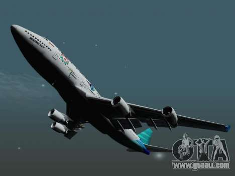 Boeing 747-400 Garuda Indonesia for GTA San Andreas right view