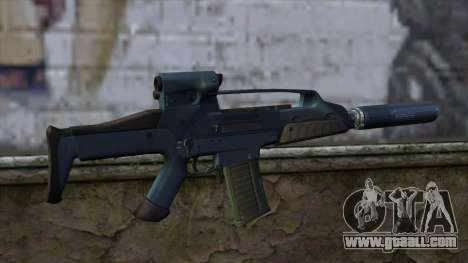 XM8 Compact Blue for GTA San Andreas second screenshot