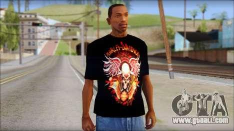Harley Davidson Black T-Shirt for GTA San Andreas