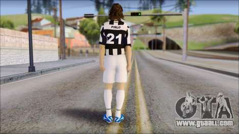 Andrea Pirlo for GTA San Andreas second screenshot