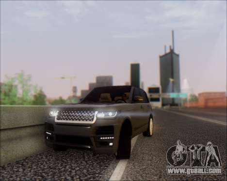 Land Rover Range Rover Startech for GTA San Andreas right view