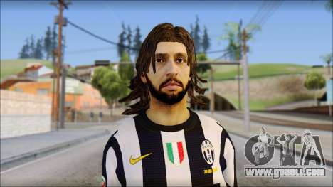 Andrea Pirlo for GTA San Andreas third screenshot