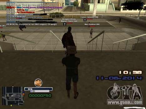 Fake time for Diamond Rp for GTA San Andreas