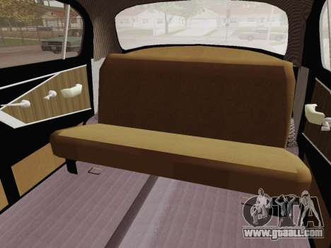 GAZ 21 Limousine for GTA San Andreas inner view