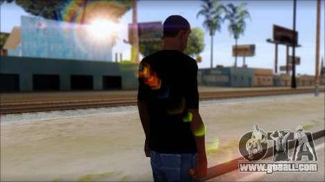 Sepultura Logo T-Shirt for GTA San Andreas second screenshot