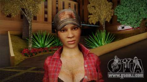 Misty from Call of Duty: Black Ops for GTA San Andreas third screenshot