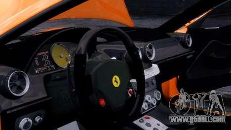 Ferrari 599 GTB Fiorano 2006 for GTA 4 right view