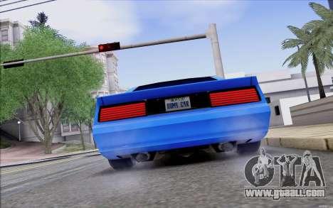 Buffalo Drift Style for GTA San Andreas right view