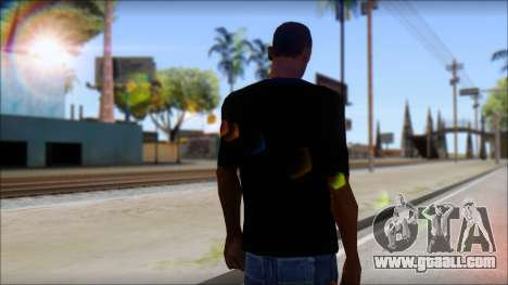 Afends T-Shirt for GTA San Andreas second screenshot