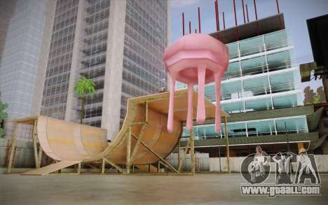 Medusa (Spongebob) for GTA San Andreas second screenshot