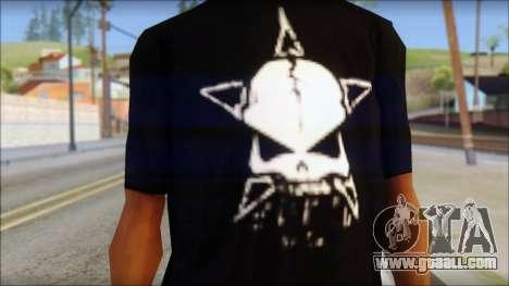 Infected Rain T-Shirt for GTA San Andreas third screenshot
