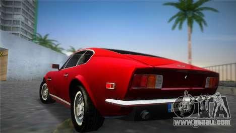Aston Martin V8 Vantage 1970 for GTA Vice City left view