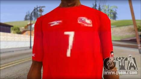 Seleccion Chilena T-Shirt 2010 for GTA San Andreas third screenshot