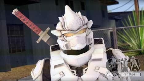 Halo 3 Hayabusa Armor for GTA San Andreas third screenshot