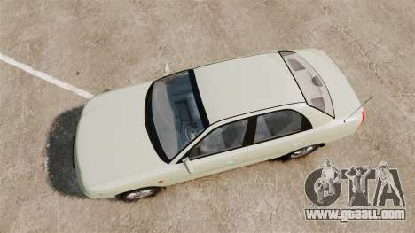 Daewoo Nubira I Sedan CDX PL 1997 for GTA 4 right view
