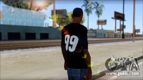 Fictional Carl Edwards T-Shirt for GTA San Andreas second screenshot