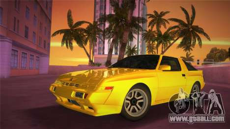 Mitsubishi Starion ESI-R 1986 for GTA Vice City inner view