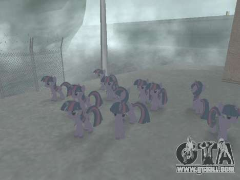 Twilight Sparkle for GTA San Andreas sixth screenshot