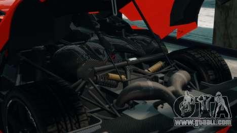 Koenigsegg Agera R 2013 for GTA 4 side view