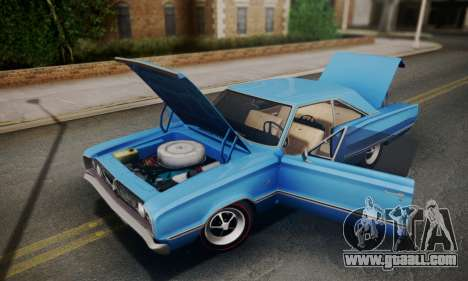 Dodge Coronet 440 Hardtop Coupe (WH23) 1967 for GTA San Andreas inner view