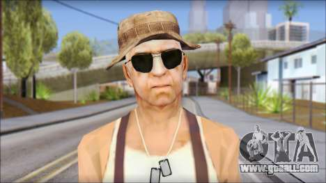 Teniente Armstrong for GTA San Andreas third screenshot