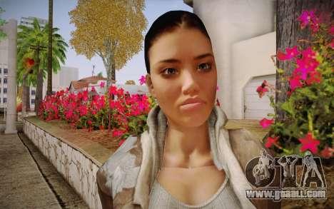Alyx Vance CM (Adriana Lima) v.1.0 for GTA San Andreas third screenshot