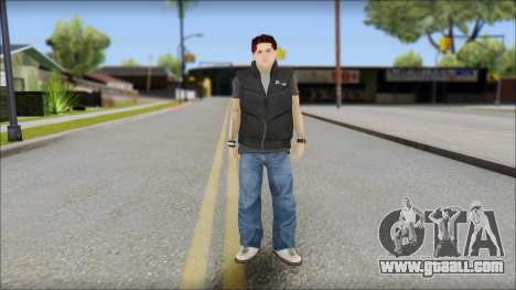 Paul from Good Charlotte for GTA San Andreas