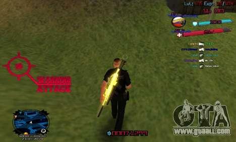 C-HUD by Accord for GTA San Andreas third screenshot