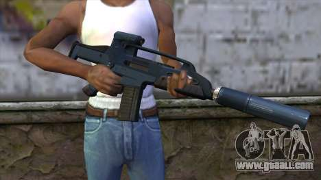 XM8 Compact Blue for GTA San Andreas third screenshot