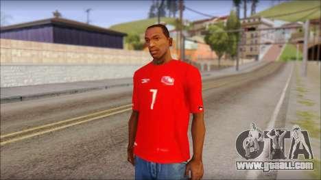 Seleccion Chilena T-Shirt 2010 for GTA San Andreas