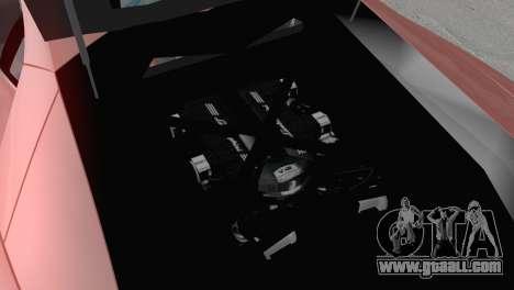 Lamborghini Aventador LP700-4 2012 for GTA San Andreas inner view