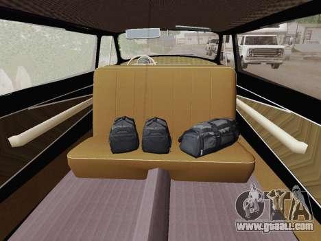GAZ 21 Limousine for GTA San Andreas back view