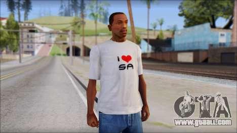 I Love SA T-Shirt for GTA San Andreas
