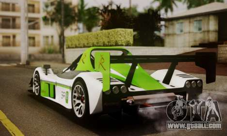 Radical SR8 Supersport 2010 for GTA San Andreas left view