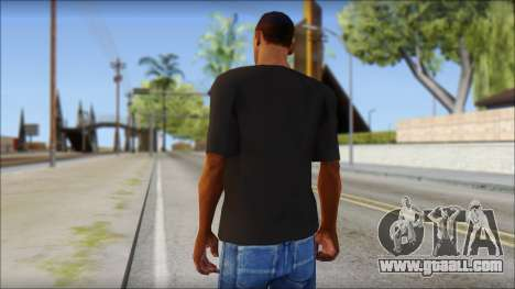 Chocolate T-Shirt for GTA San Andreas second screenshot