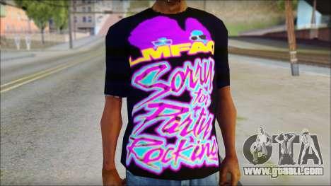 LMAFAO T-Shirt for GTA San Andreas third screenshot