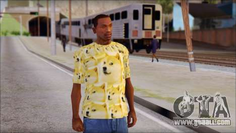 Doge T-Shirt for GTA San Andreas