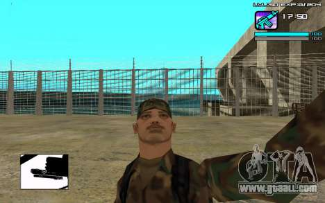 Perfect C-HUD for GTA San Andreas second screenshot