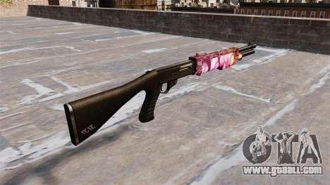 Gun Franchi SPAS-12 Dots for GTA 4 second screenshot