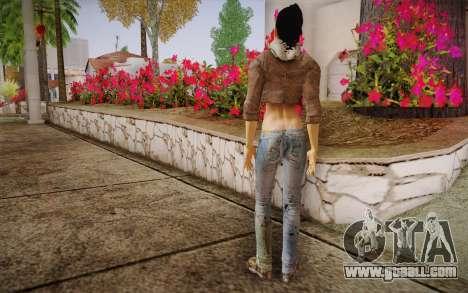 Alyx Vance CM (Adriana Lima) v.1.0 for GTA San Andreas second screenshot