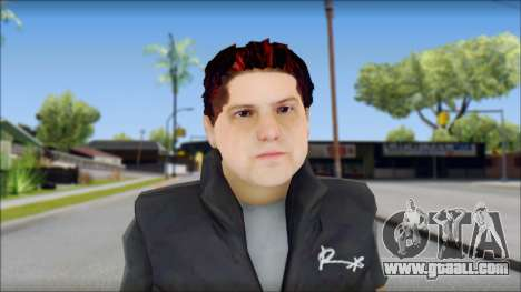 Paul from Good Charlotte for GTA San Andreas third screenshot