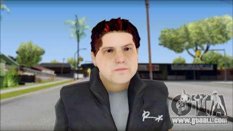 Paul from Good Charlotte for GTA San Andreas third screenshot