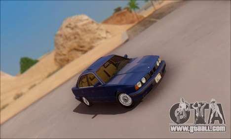 BMW 535i Stock for GTA San Andreas